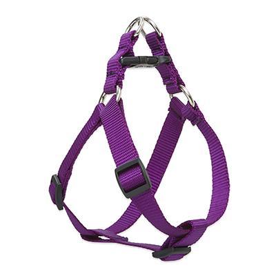 Lupine Nylon Dog Harness Step In Purple 24-38-inch