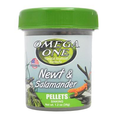 Omega One Newt Salamander Pellets 1.2oz