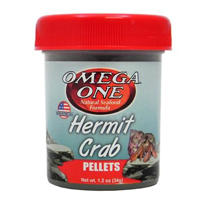 Omega One Hermit Crab Pellets 1.2-oz