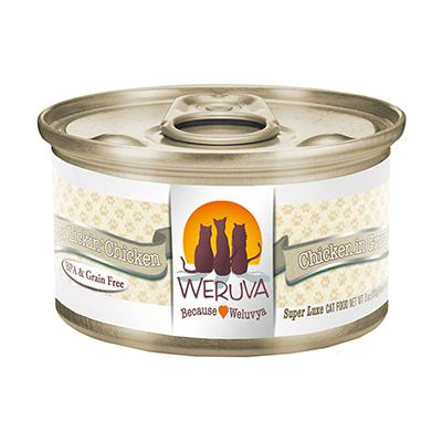 Weruva Cat Paw Lickin Chicken 3oz case