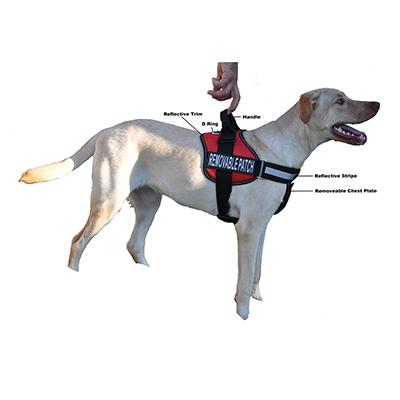 Unimax Multi Purpose Harness Red Large Click for larger image