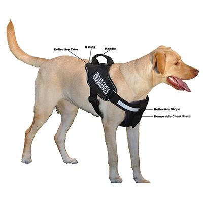 Alpha Multi Purpose Harness Black Medium