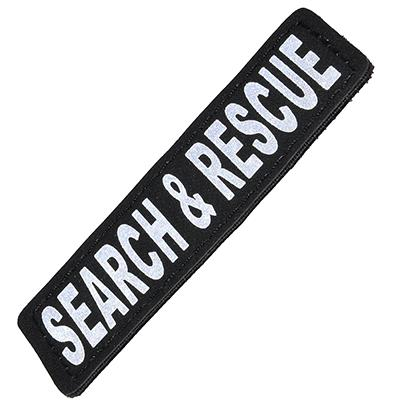Removable Velcro Patch Search and Rescue Large / XLarge