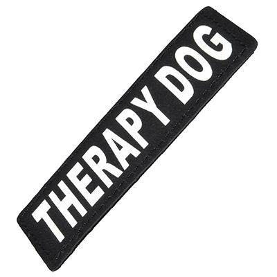 Removable Velcro Patch Therapy Dog XSmall Click for larger image