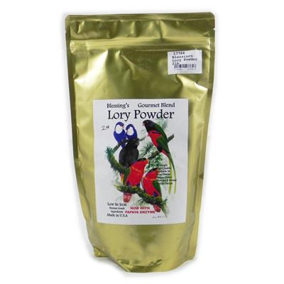 Blessing's Gourmet Lory Powder Dry Lorikeet Food 2lb