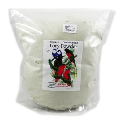 Blessing's Gourmet Lory Powder Dry Lorikeet Food 10lb