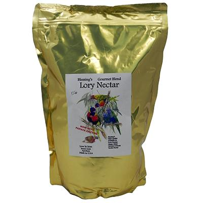 Blessing's Gourmet Lory Nectar 5lb Click for larger image