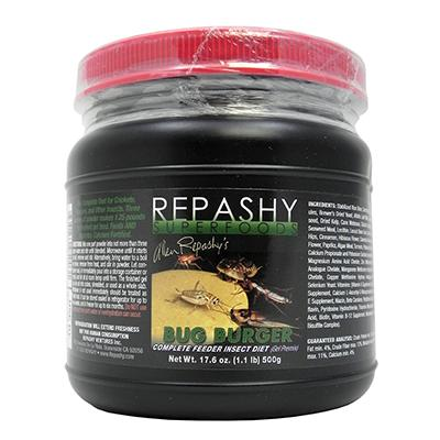 Repashy Bug Burger Feeder Insect Diet 17oz