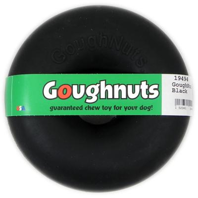 GoughNut Black Dog Chew Toy