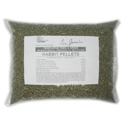 Templeton Rabbit Pellets 9.75-Lb.