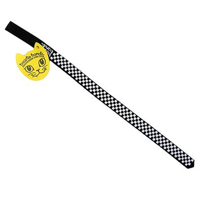 Beastie Band Cat Collar Checkerboard