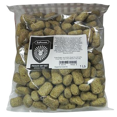 Zupreem Primate Dry 1 lb Primate and Bird Food