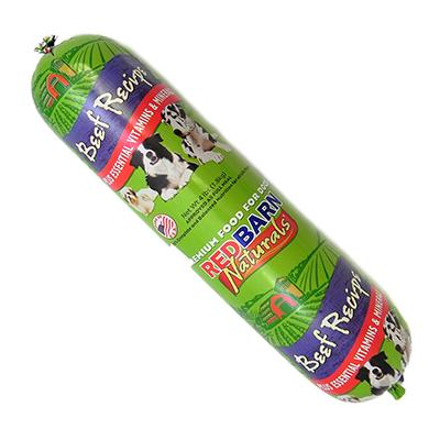 Redbarn Beef Roll Dog Food Roll 4 lb
