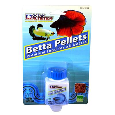 Ocean Nutrition Betta Pellet 15 gram Click for larger image