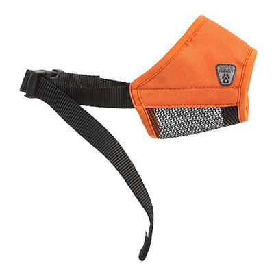 Soft Fit Muzzle Orange XSmall 4-1/4-inch Click for larger image