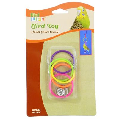 Olympic Rings Bird Toy
