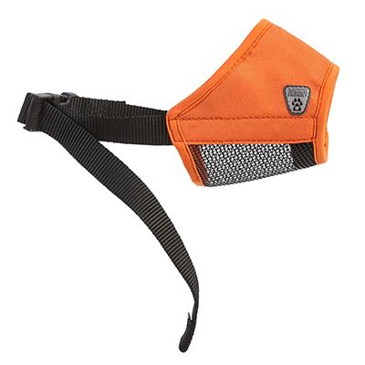 Soft Fit Muzzle Orange Large 7-inch