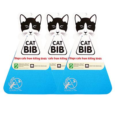 CatBib WildBird Saver Blue Small 3 pack Click for larger image