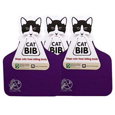 CatBib WildBird Saver Purple Big 3 pack