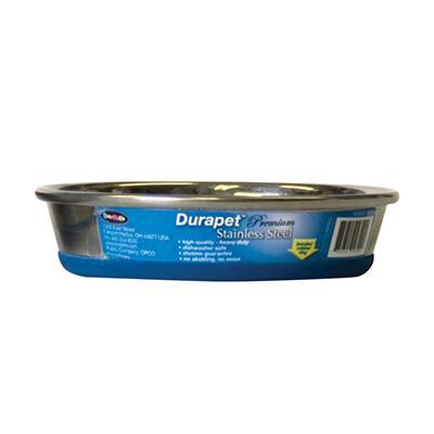 Durapet Premium Stainless Steel Cat Bowl 8oz Click for larger image
