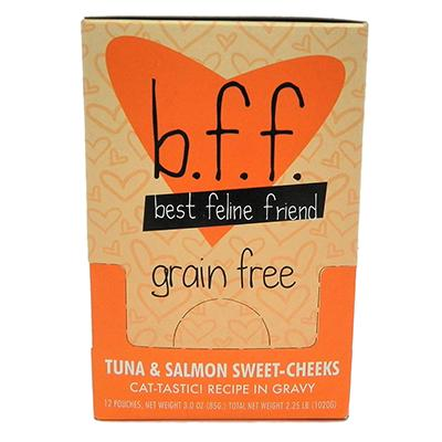 BFF Tuna & Salmon Baby Cakes Recipe Pouch 3oz case