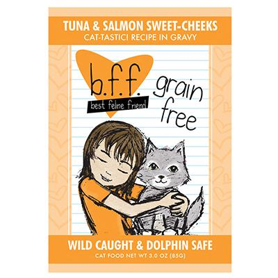 BFF Tuna Salmon Recipe Pouch 3oz each