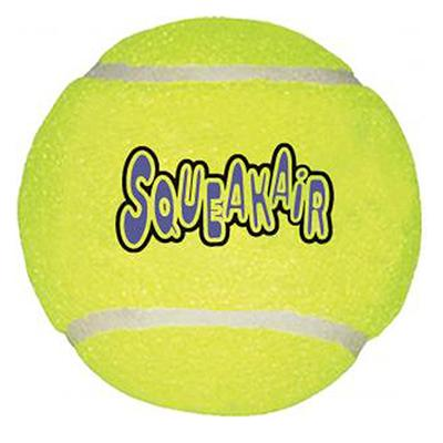 Air KONG Squeakers Large Tennis Ball Dog Toy Click for larger image