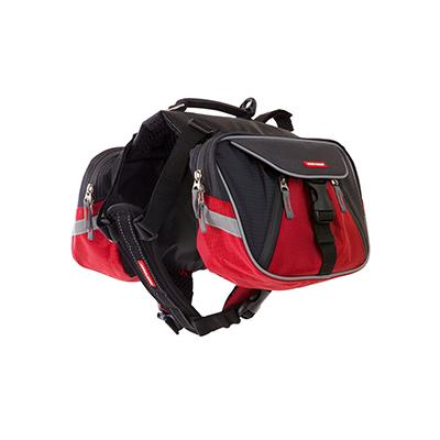 EzyDog Summit Backpack Red/Black Small