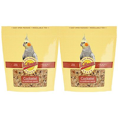 Avian Science Super Cockatiel NO Sun 4 pound Bird Seed 2pk