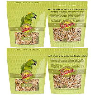 Volkman Avian Science Super Parrot Seed Mix 4 lb 4 Pack Click for larger image