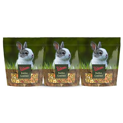 Volkman Rabbit Gourment Juvenile Rabbit Food 4Lb. 3 Pack Click for larger image