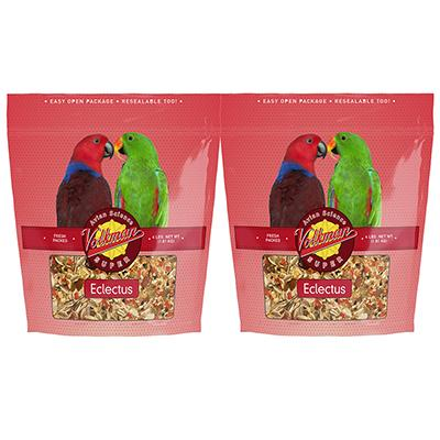 Avian Science Super Eclectus Bird Seed 4 lb 2 Pack Click for larger image
