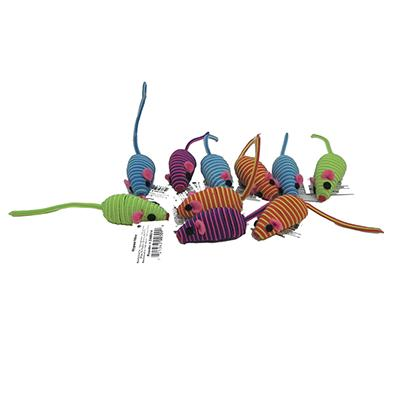Zanies Hypno Mouse Cat Toy 10 Pack Click for larger image