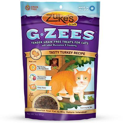 Zuke's Cat G-Zee Turkey 3oz