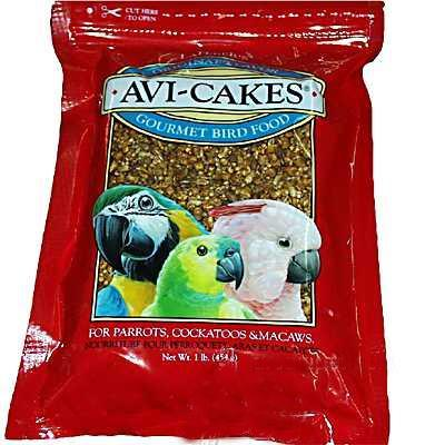Lafeber Avi-Cakes Large Bird Food 3 pack