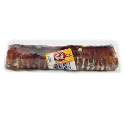 Beef Trachea Tooble 8-inch Dog Chew Treat 3 pack Click for larger image