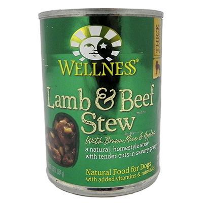 Wellness Lamb Beef Dog Food 13oz each