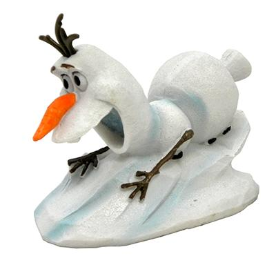 Disney Frozen Aquarium Ornament Olaf Sliding
