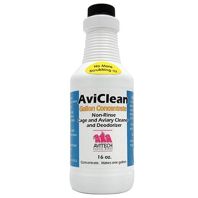 AviClean Non-Rinse Cage and Aviary Concentrate 16oz