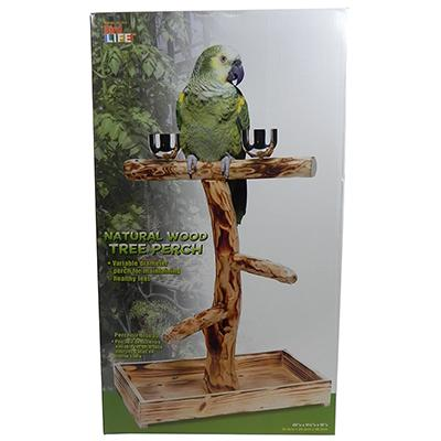 Penn Plax Bird Tree Perch for Large Birds