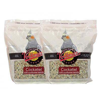 Avian Science Super Cockatiel with Sunflower 4lb. 2 Pack