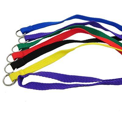 Nylon Flat Kennel Dog Lead 4 x 1/2 6 pack