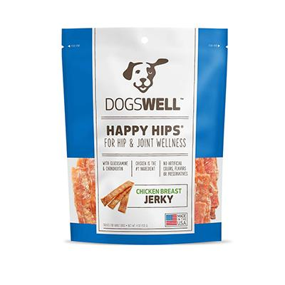 Happy Hips USA Chicken Dog Treats from Dogswell 4oz