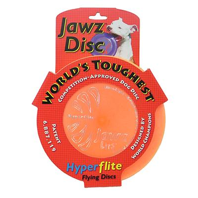 Hyperflite Jawz Orange Competition Dog Sport Disc