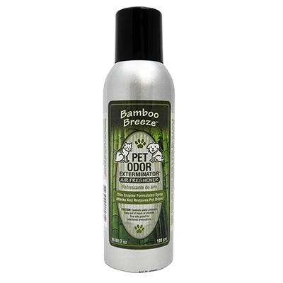 Pet Odor Eliminator Air Freshener Bamboo Breeze 7oz. Click for larger image