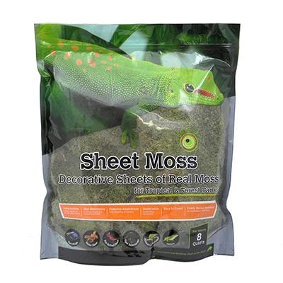 Galapagos Sheet Moss Terrarium Decoration 8 qt