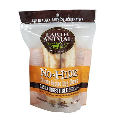 Earth Animals No-Hide All Natural Chicken Chew Large 2 Pack Click for larger image