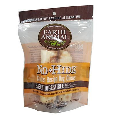 Earth Animals No-Hide All Natural Chicken Chew Med 2 Pack