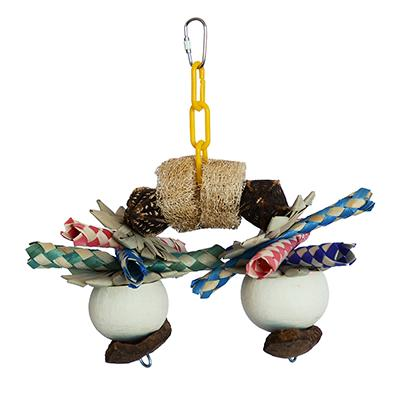 Super Bird Ski Legs Bird Toy for Larger Birds
