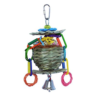 Super Bird Mini Flower Basket for Smaller Birds